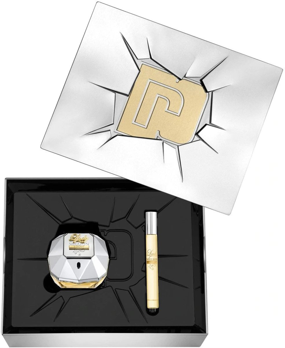 Paco Rabanne Lady Million Lucky 80 ml Edp + 10 ml Edp set