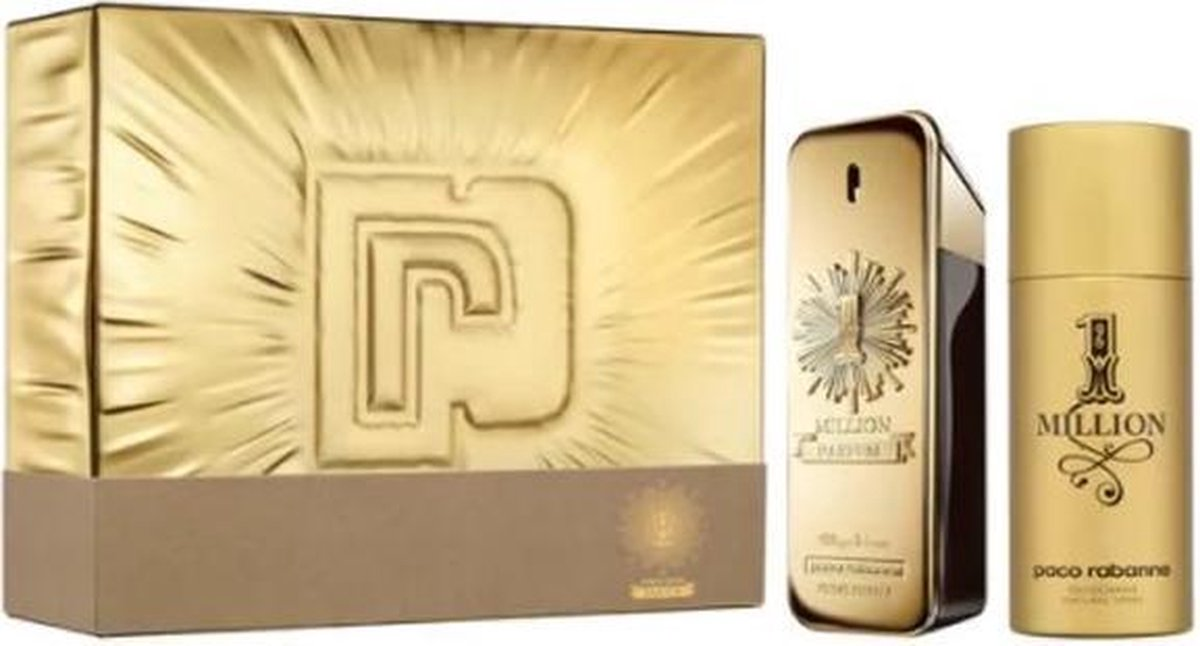 Paco Rabanne One Million Eau De Parfum Spray 100ml Set 2 Pieces 2020