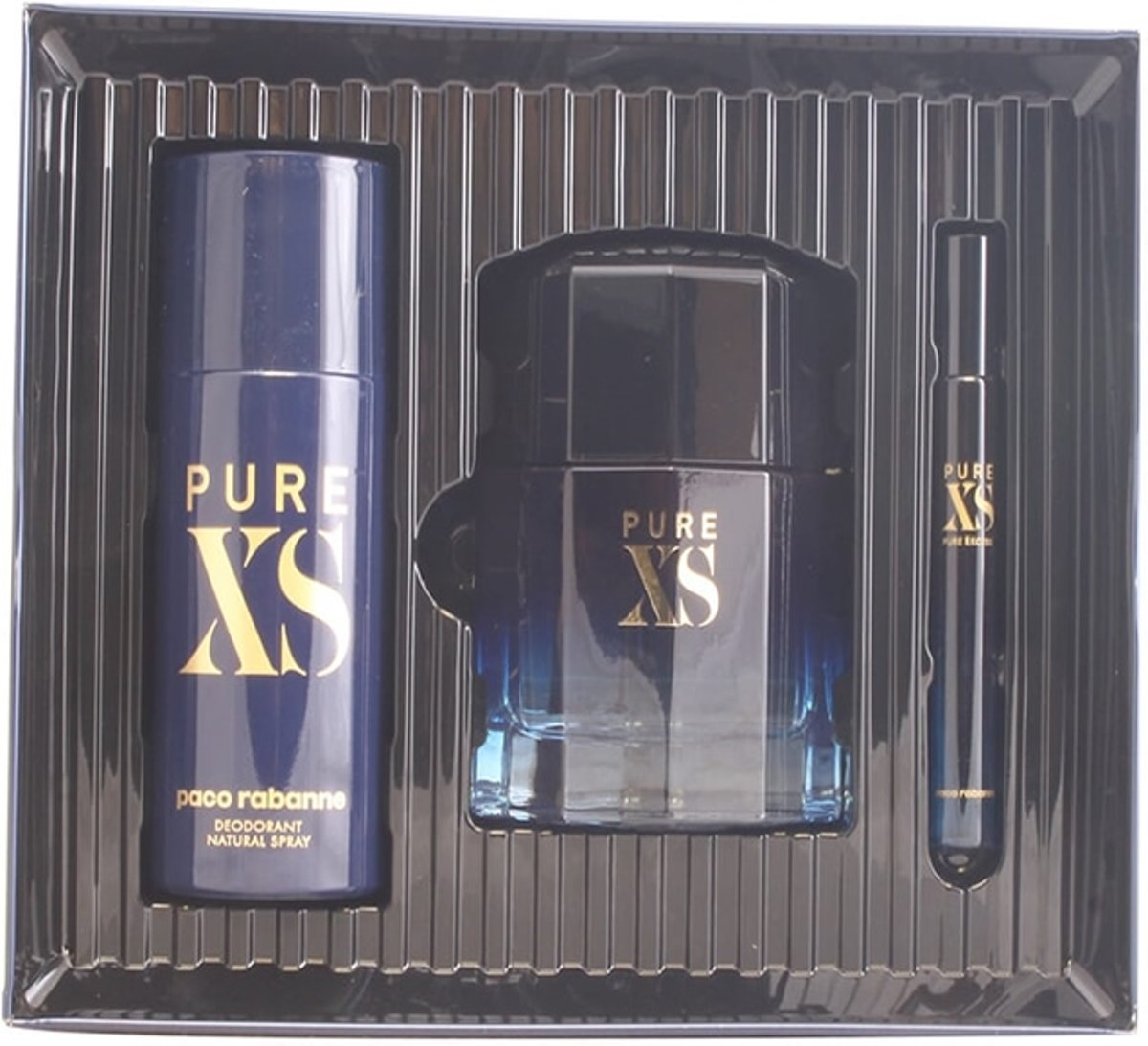 Paco Rabanne Pure Xs Eau De Toilette Spray Set 3 Pieces 2020