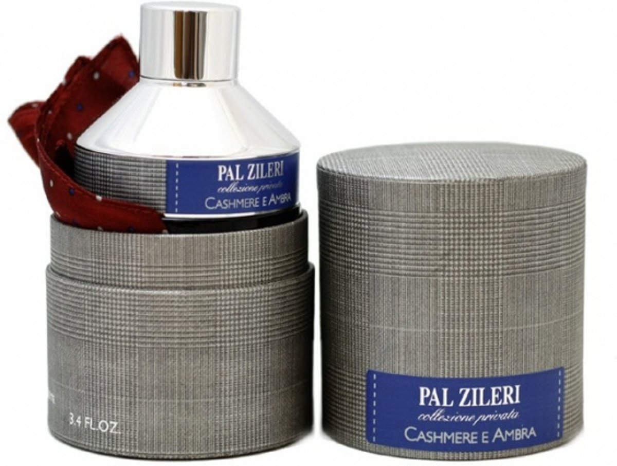 Pal Zileri Cashmere E Ambra Eau de Toilette Spray 100 ml