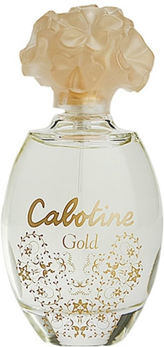MULTI BUNDEL 3 stuks Gres Cabotine Gold Eau De Toilette Spray 50ml