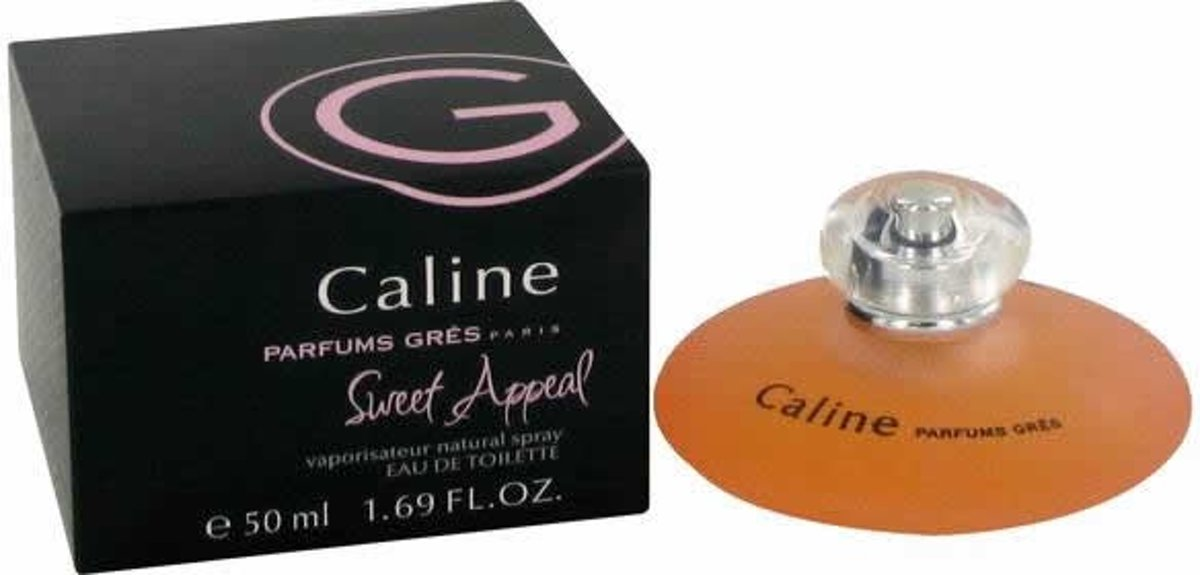MULTI BUNDEL 3 stuks Gres Caline Sweet Appeal Eau De Toilette Spray 50ml