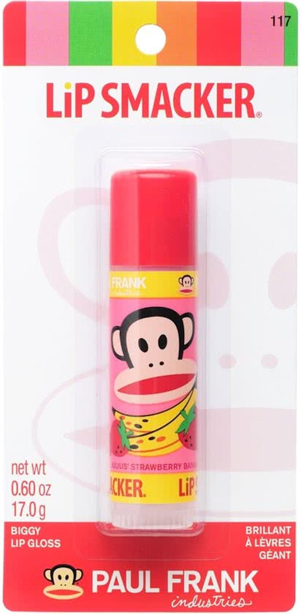 Lipsmackers Paul Frank Lip Gloss - Strawberry Banana