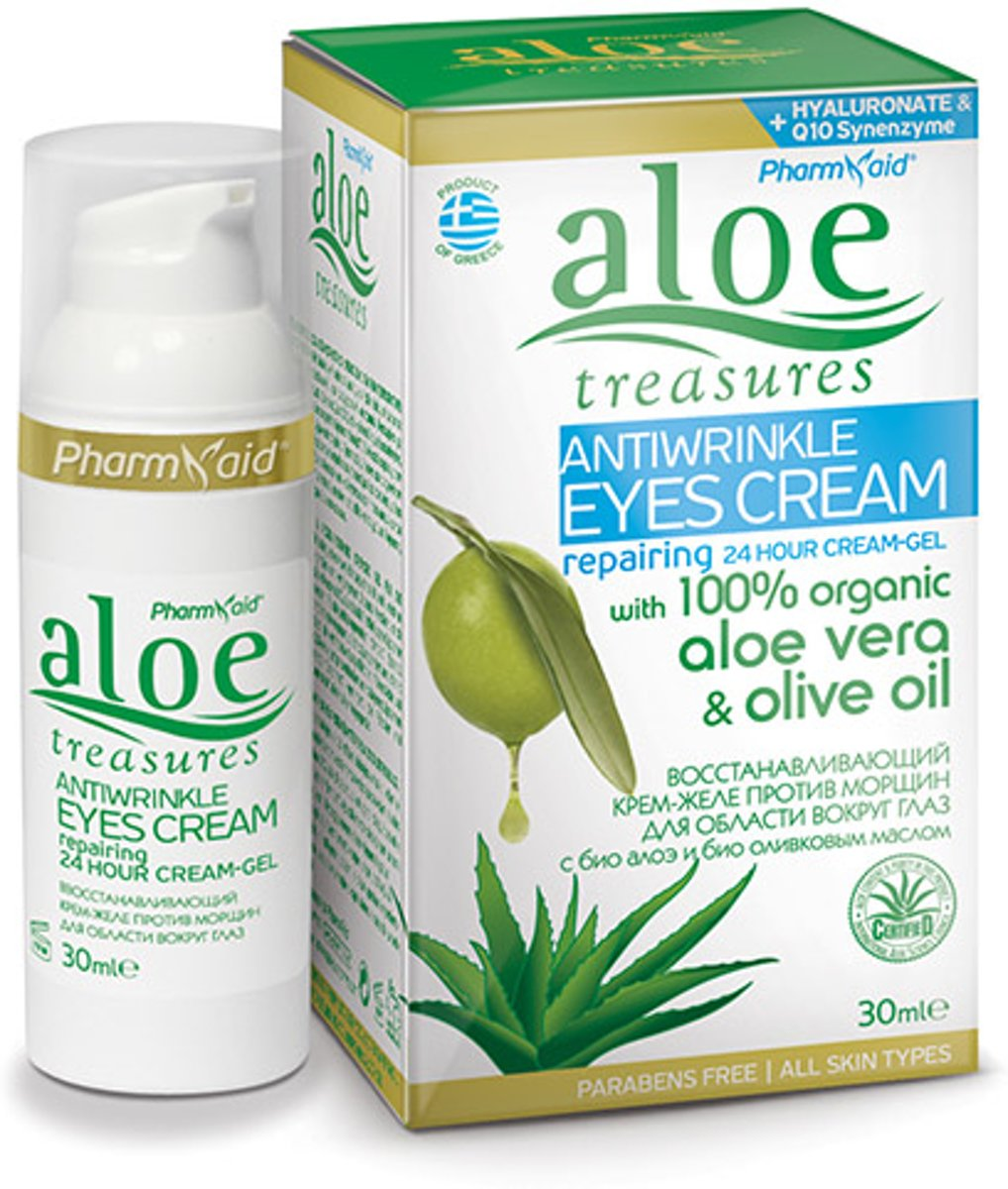 Anti rimpel oogcrème gel Aloe Treasures 30ml