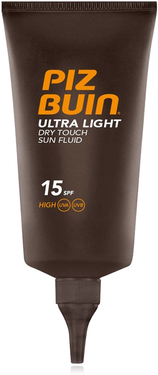Anti Bruine vlekken Zonnebrandlotion Ultra Light Piz Buin Spf 15 (150 ml)