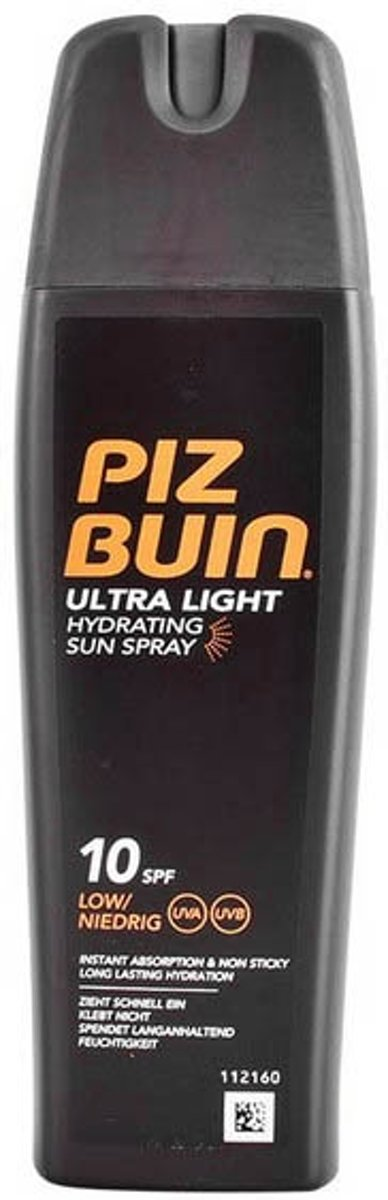 Zon Protector Spray Ultra Light Piz Buin (200 ml)