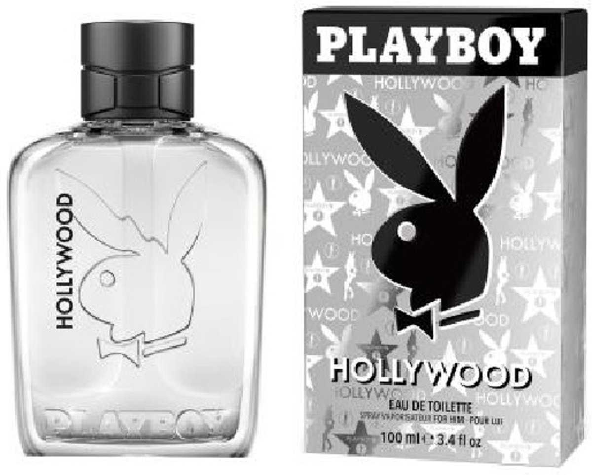 MULTI BUNDEL 2 stuks Playboy Hollywood Eau De Toilette Spray 100ml