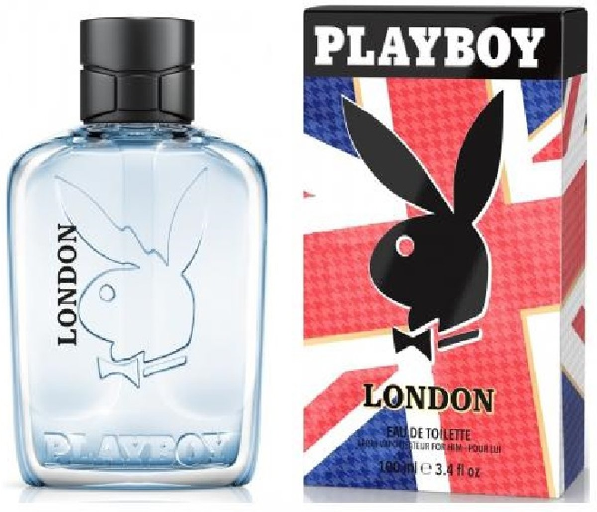 MULTI BUNDEL 3 stuks Playboy London Eau De Toilette Spray 100ml