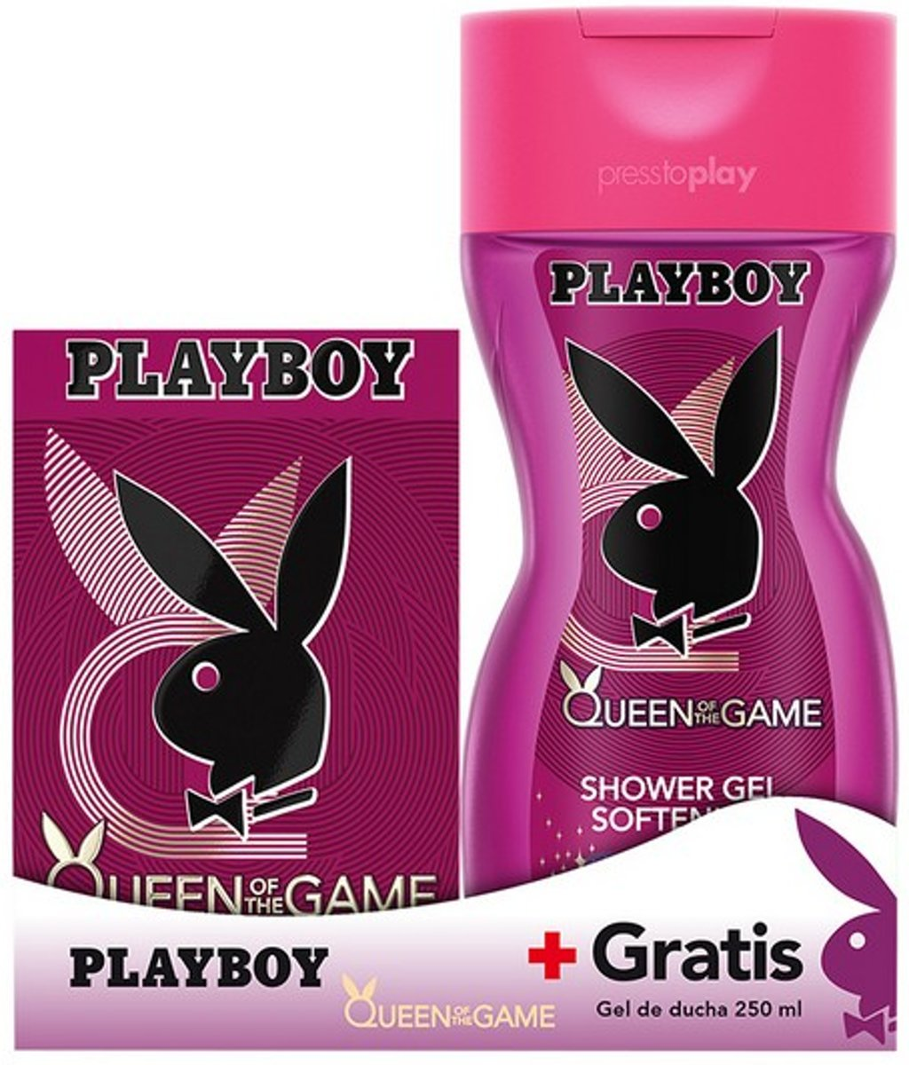 Parfumset voor Dames Queen Of The Game Playboy (2 pcs)