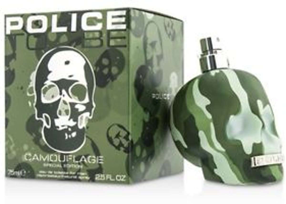 POLICE TO BE CAMOUFLAGE(M)EDT 75 ML.
