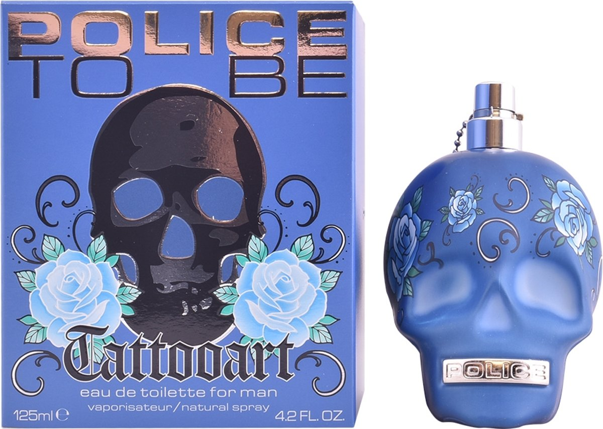 Police To Be Tattoo Art For Him - 125ml - Eau de toilette