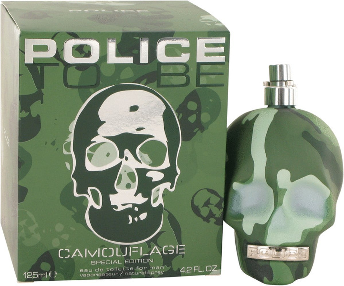 Police to be camouflage edt 125 ml spray