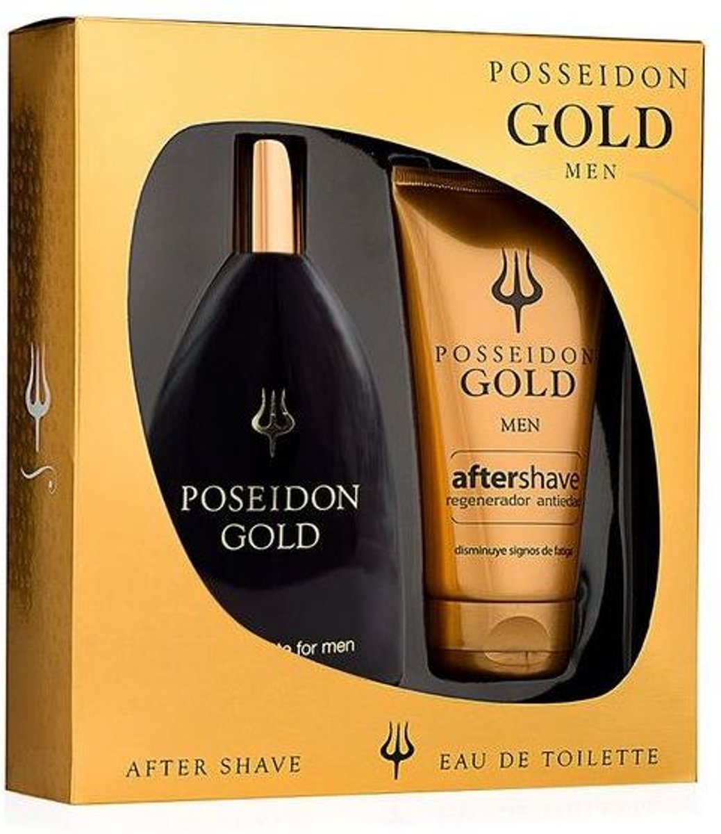 Poseidon Gold Men Lote 2 Pz - Beauty & Health