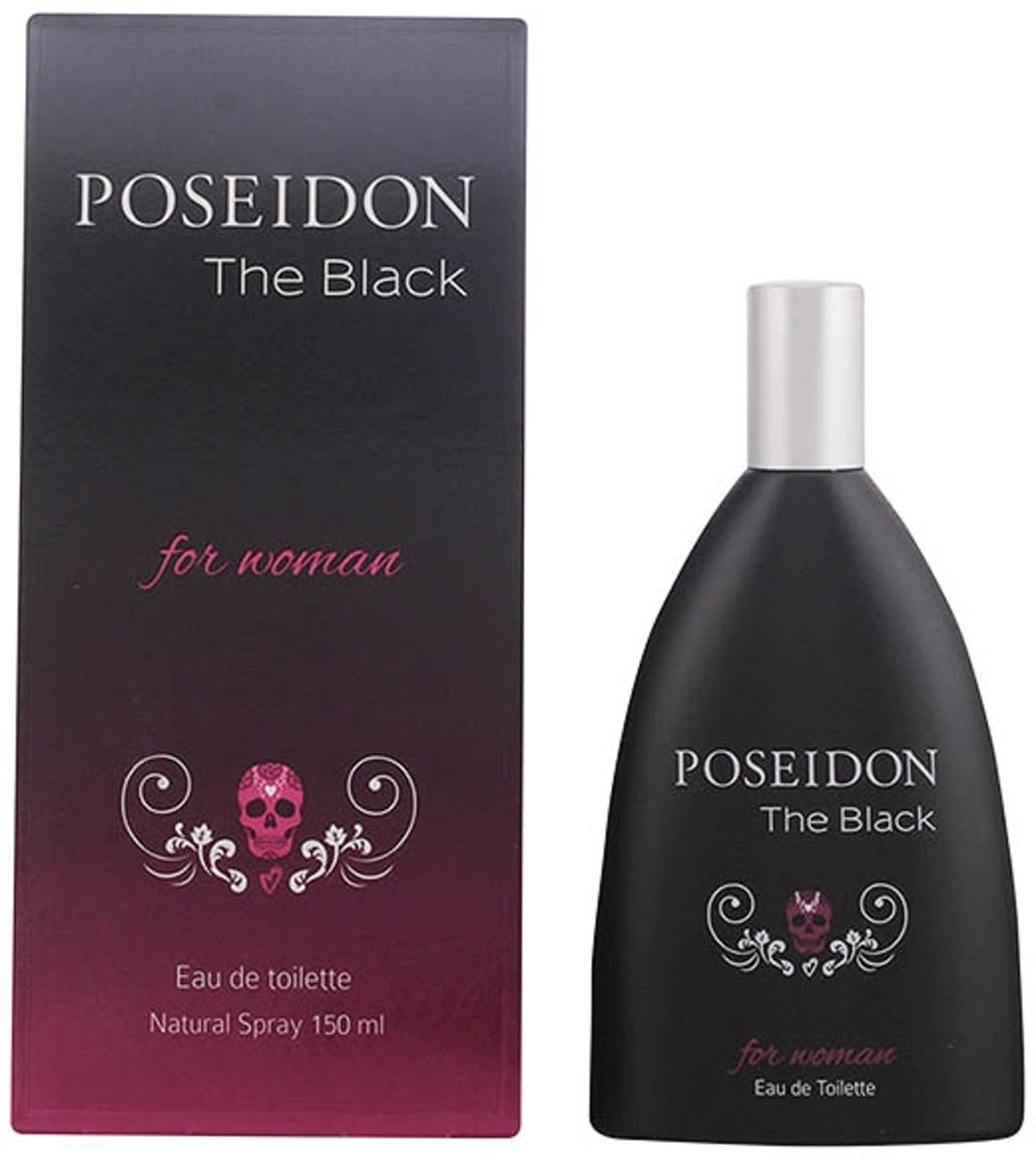 Posseidon - POSEIDON THE BLACK WOMAN edt vaporizador 150 ml