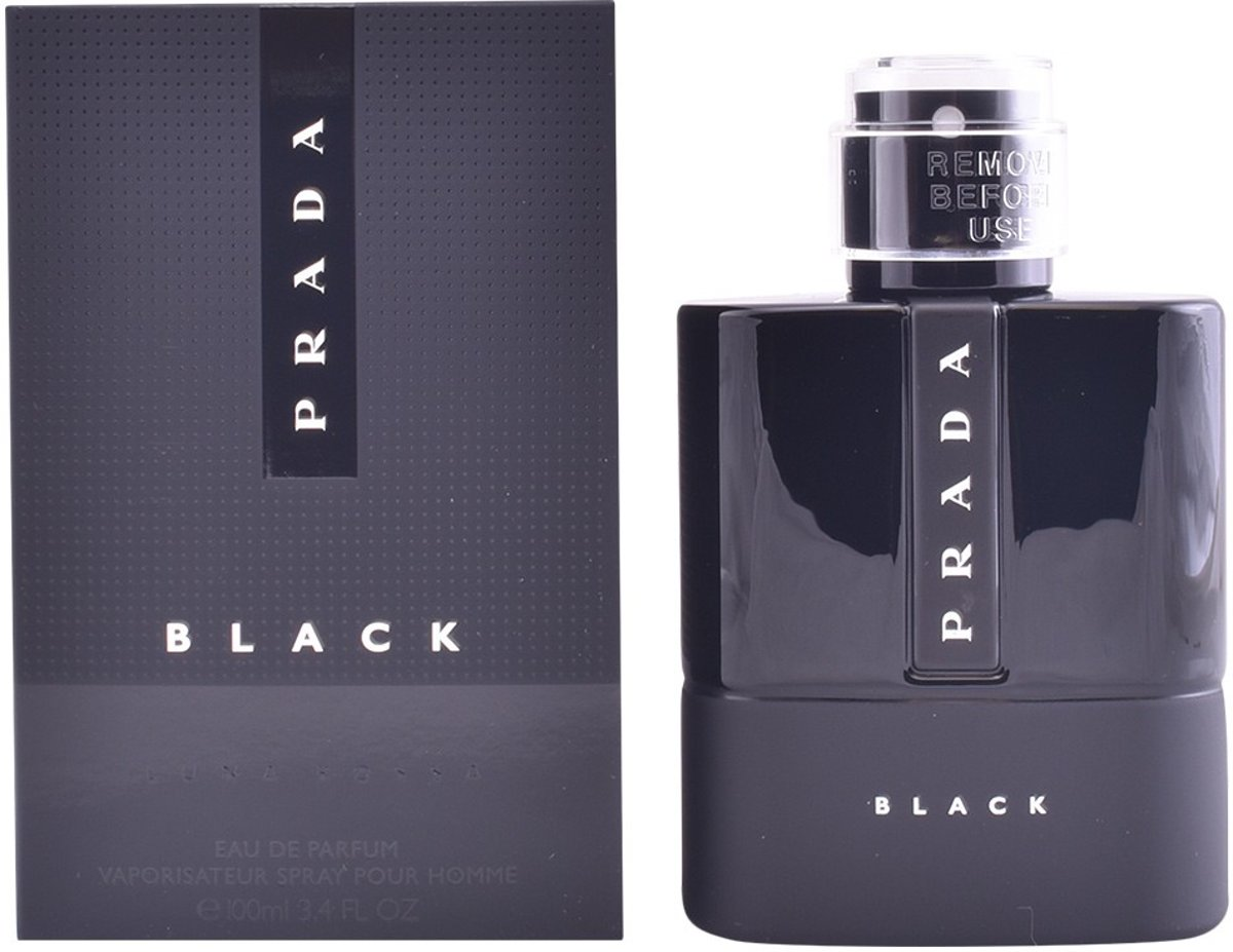 MULTI BUNDEL 2 stuks LUNA ROSSA BLACK Eau de Toilette Spray 100 ml