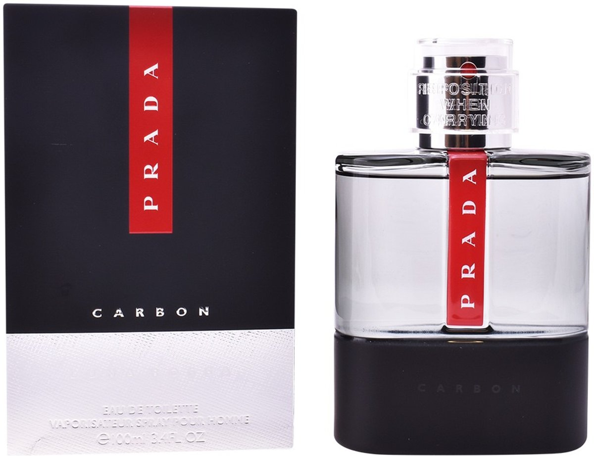 MULTI BUNDEL 2 stuks LUNA ROSSA CARBON Eau de Toilette Spray 100 ml