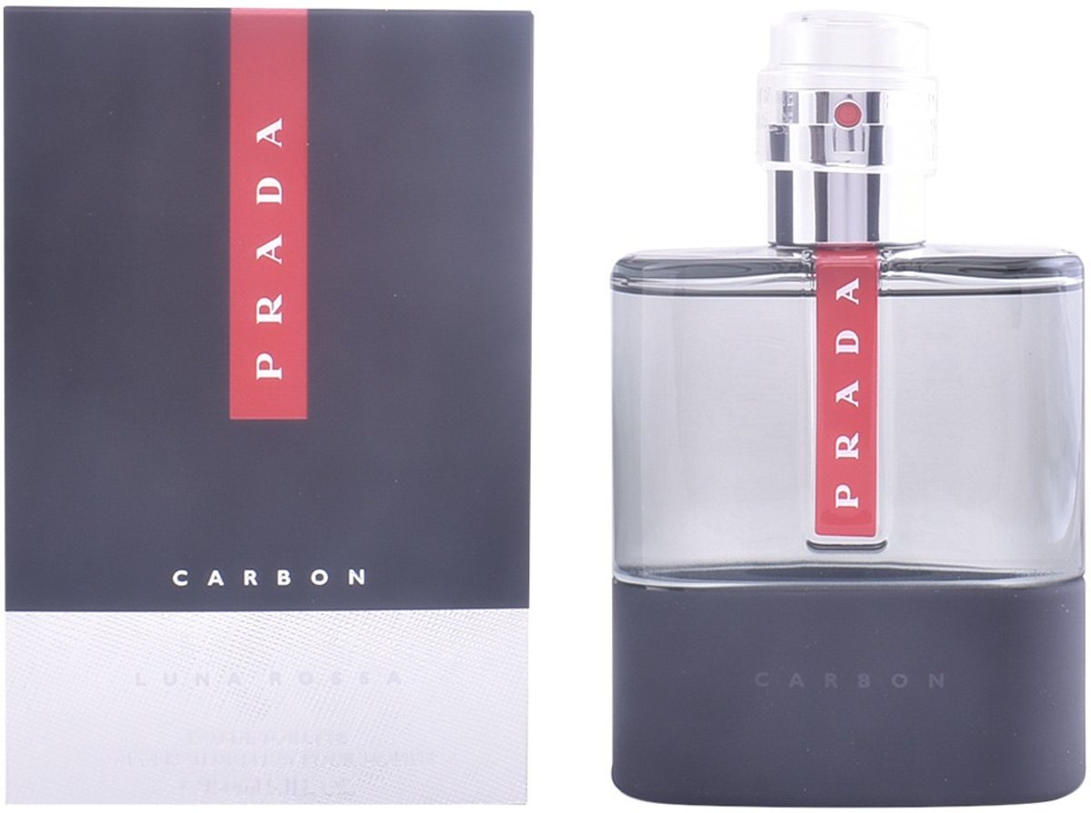 MULTI BUNDEL 2 stuks LUNA ROSSA CARBON Eau de Toilette Spray 150 ml
