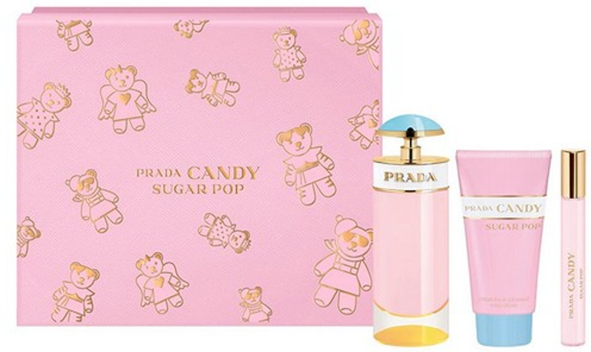 Parfumset voor Dames Candy Sugar Pop Prada (3 pcs)