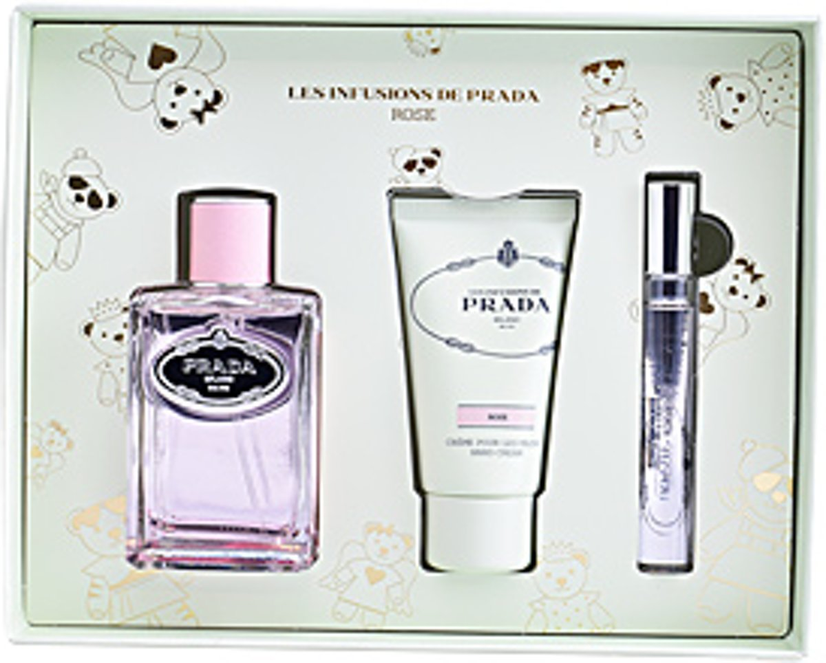 Prada INFUSION ROSE SET 3 pz