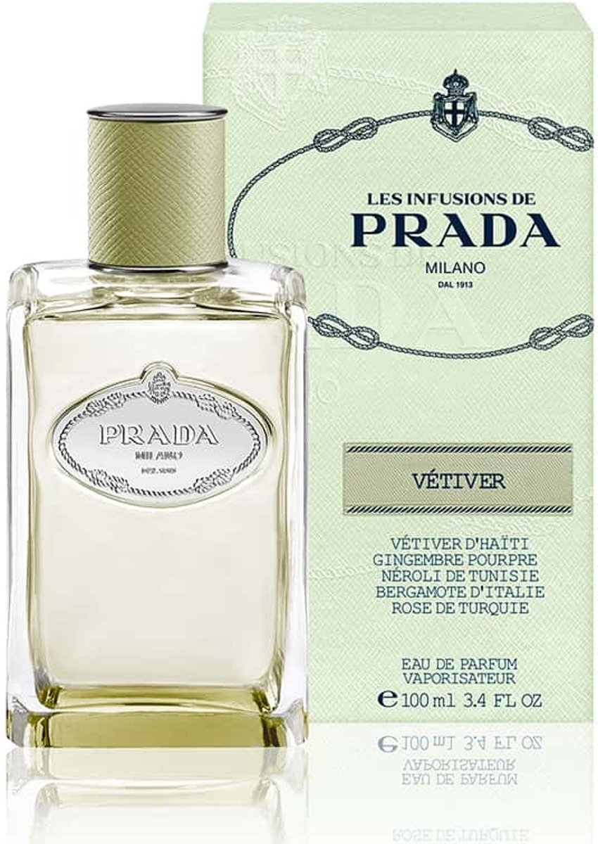 Prada Infusion de Vétiver - 100 ml - eau de parfum spray