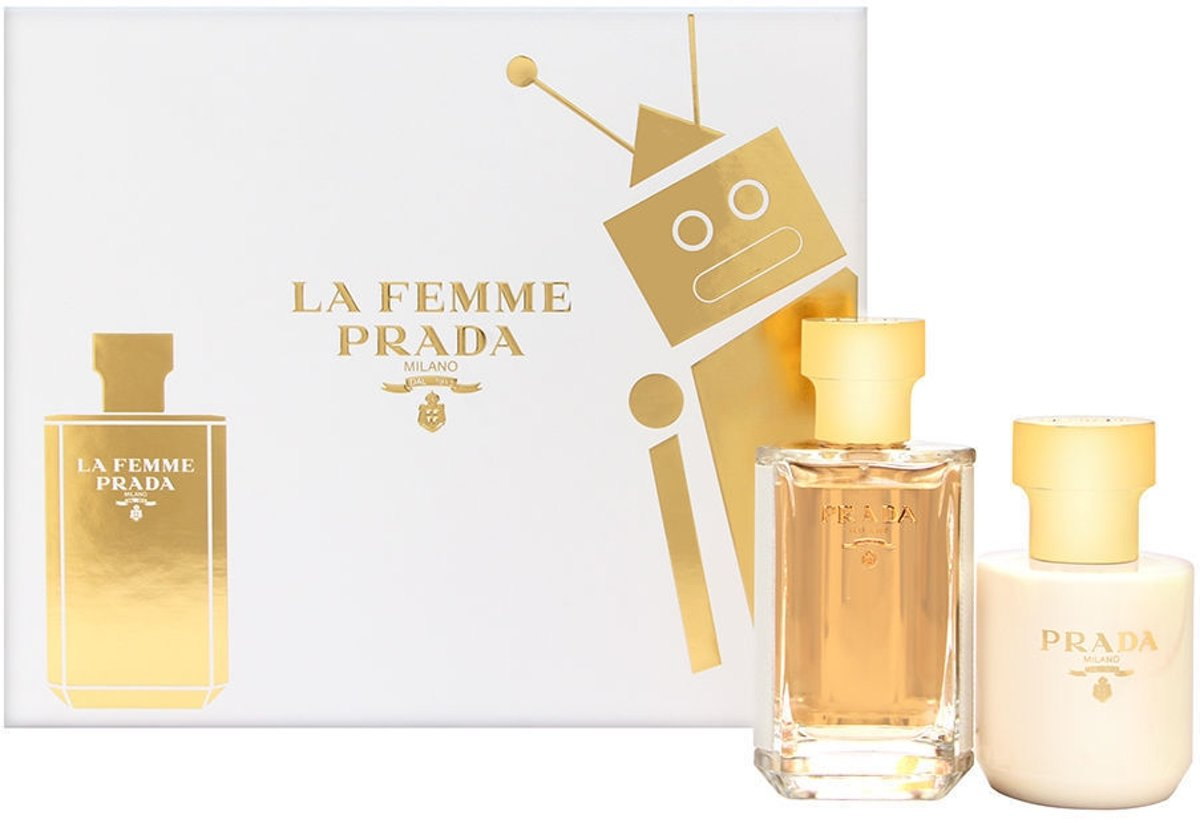 Prada La Femme 50 ml Edp + 100 ml Bodylotion set