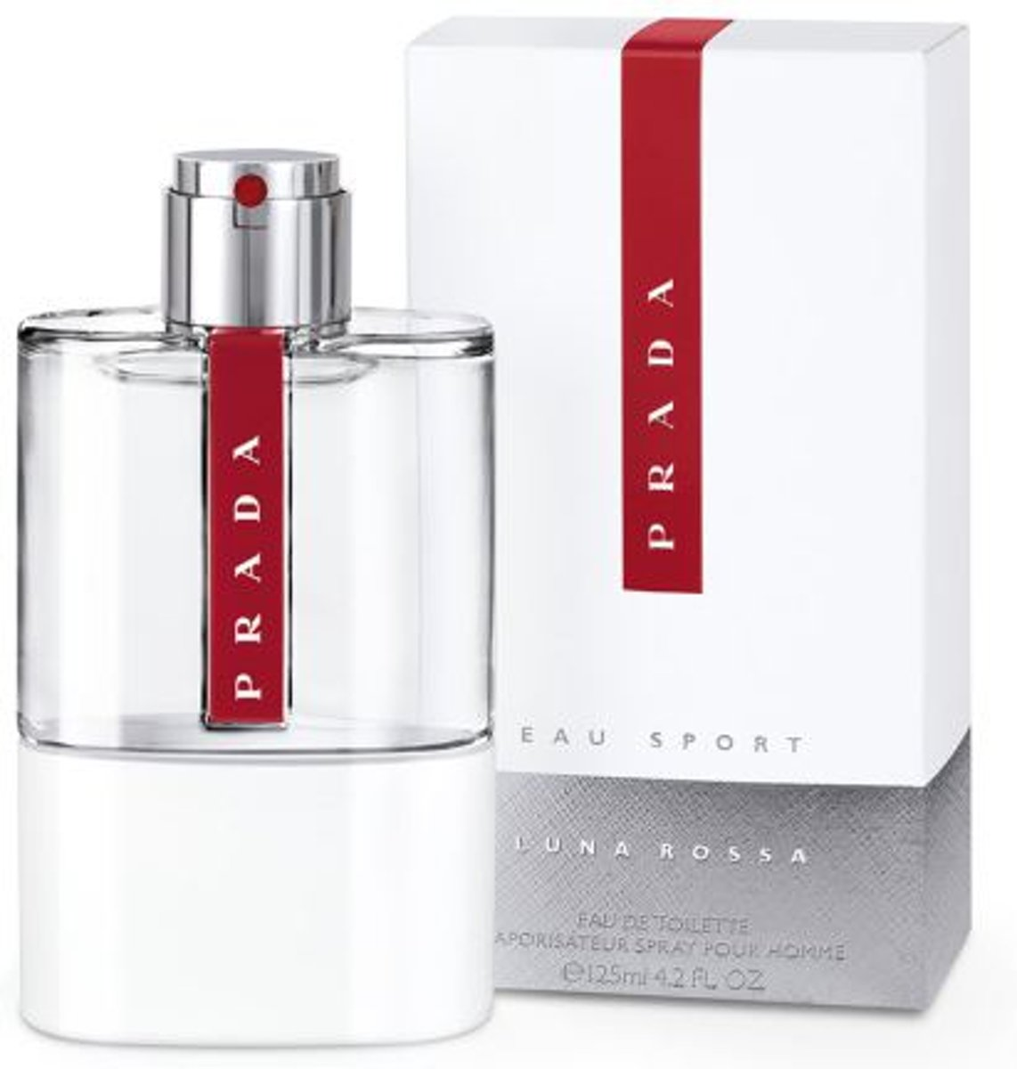 Prada Luna Rossa Eau Sport 125 ml - Eau De Toilette Spray Men