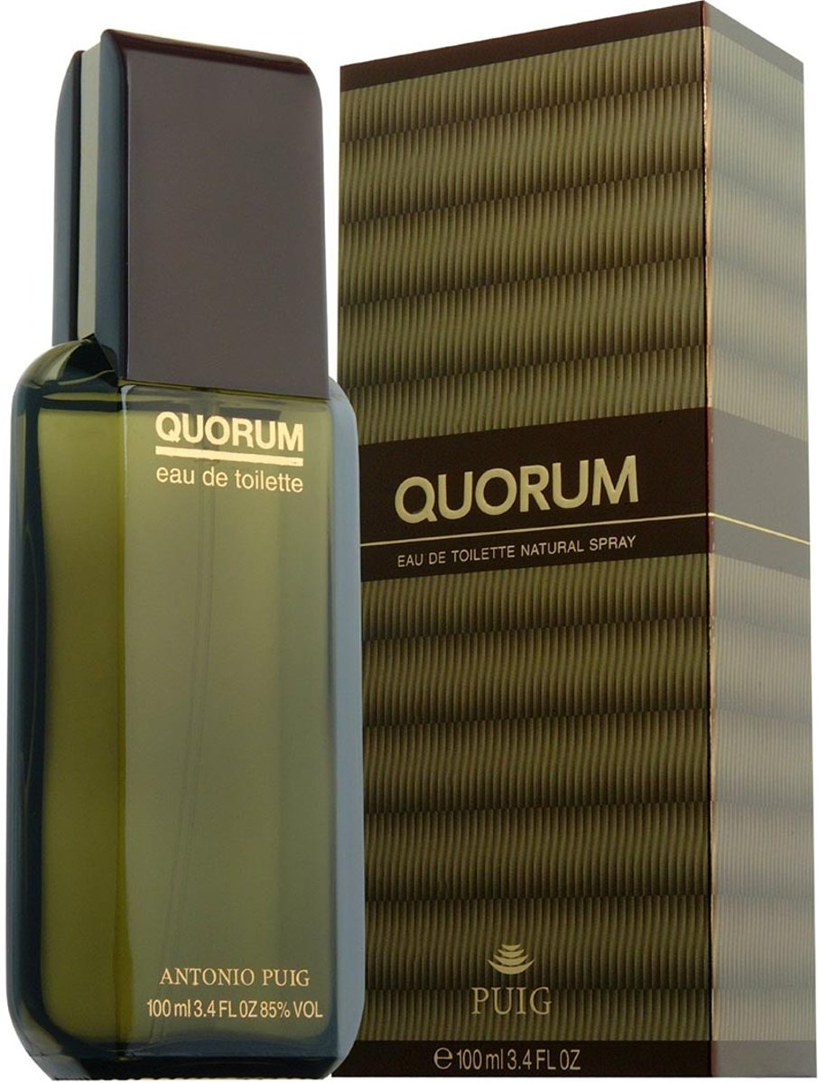 MULTI BUNDEL 5 stuks Puig Quorum Eau De Toilette Spray 100ml