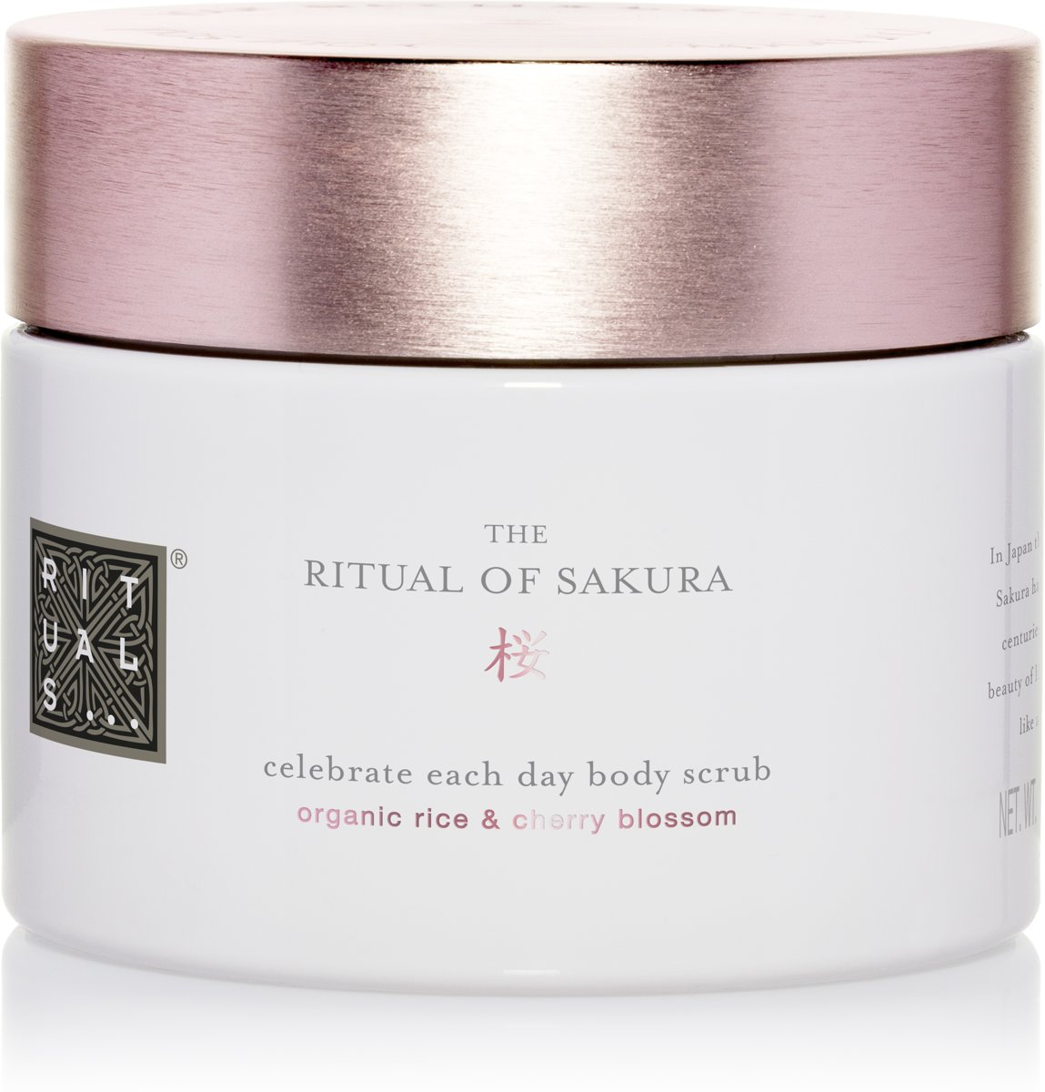 RITUALS The Ritual of Sakura Lichaamsscrub - 375g