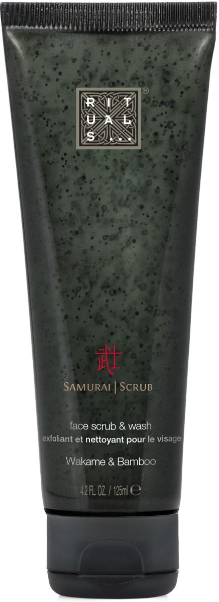 RITUALS The Ritual of Samurai 2 in 1 reinigende scrub voor mannen - 125 ml
