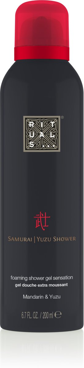 RITUALS The Ritual of Samurai Yuzu Doucheschuim voor mannen - 200ml