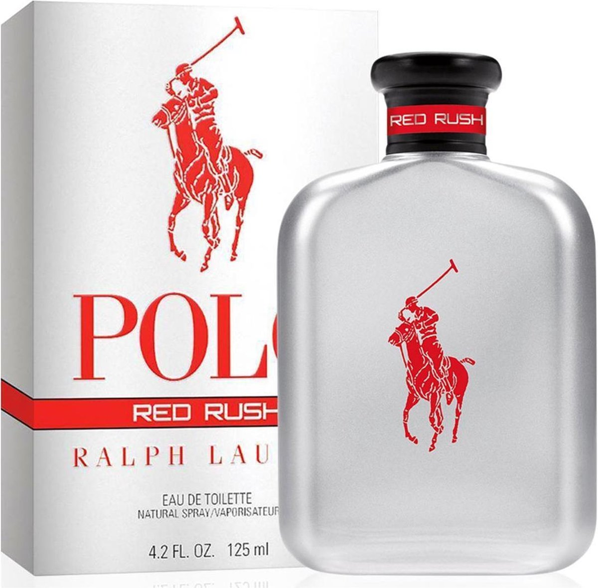 RALPH LAUREN POLO RED RUSH EAU DE TOILETTE 125ML VAPORIZADOR