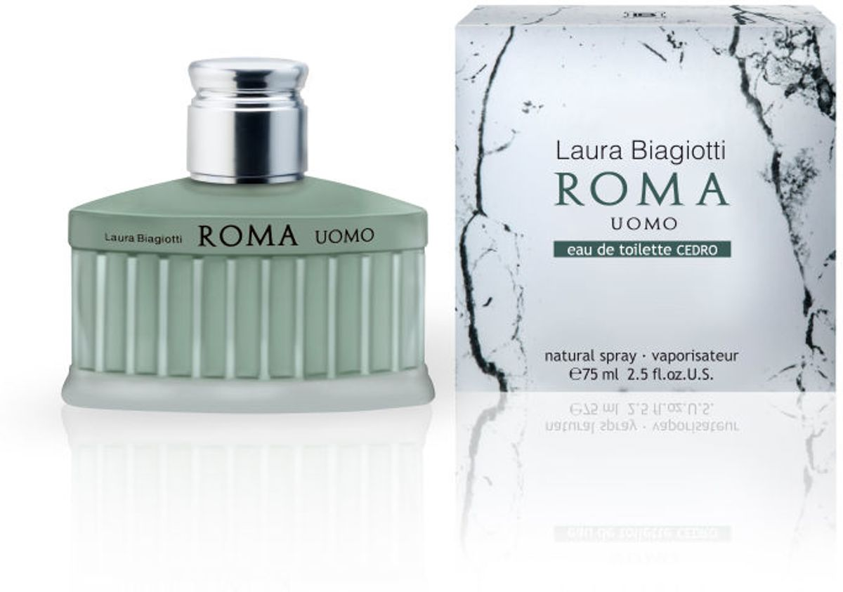 Laura Biagiotti Roma Uomo Cedro Edt Spray 75ml