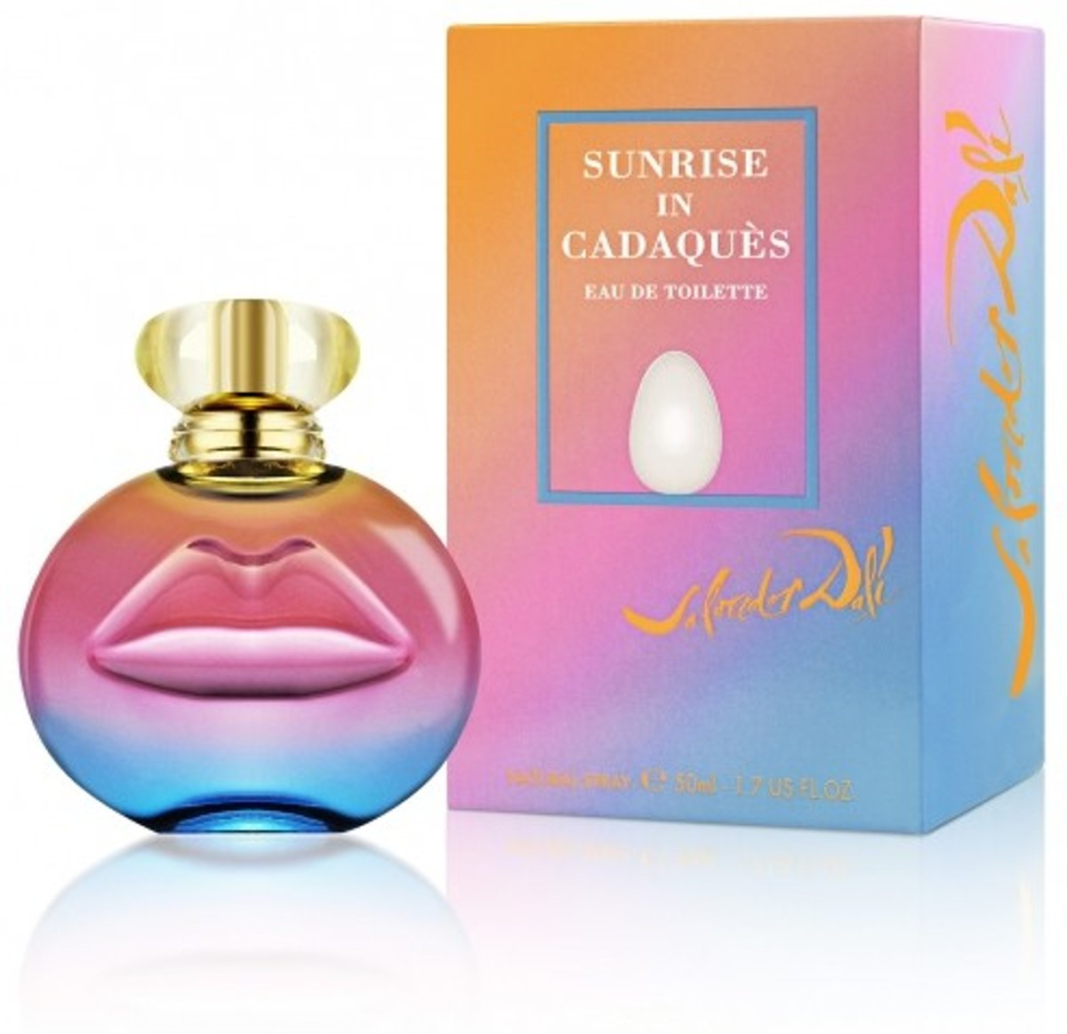 Salvador Dali Sunrise In Cadaques Edt Spray 50ml