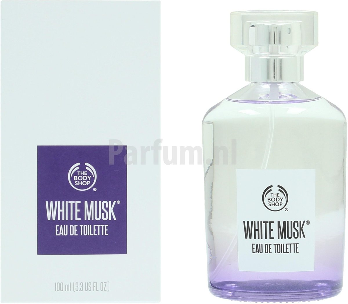 The Body Shop White Musk Eau de toilette spray 100 ml