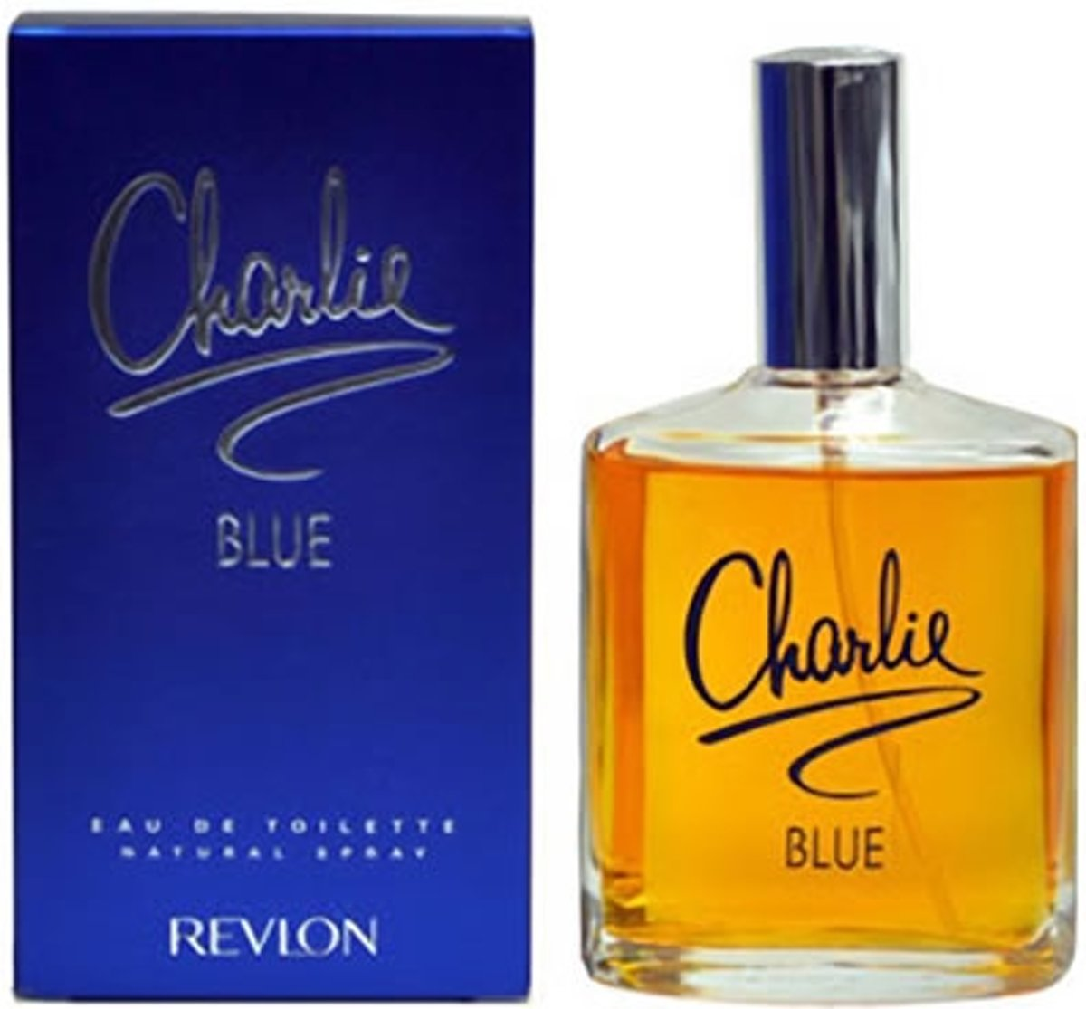 MULTI BUNDEL 2 stuks Revlon Charlie Blue Eau De Toilette Spray 100ml