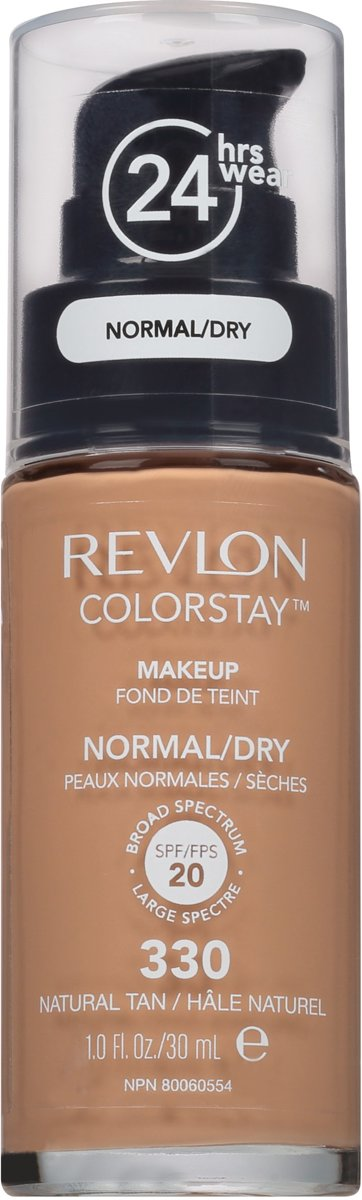 Revlon Colorstay Foundation With Pump Normal/Dry Skin - No. 330 Natural Tan
