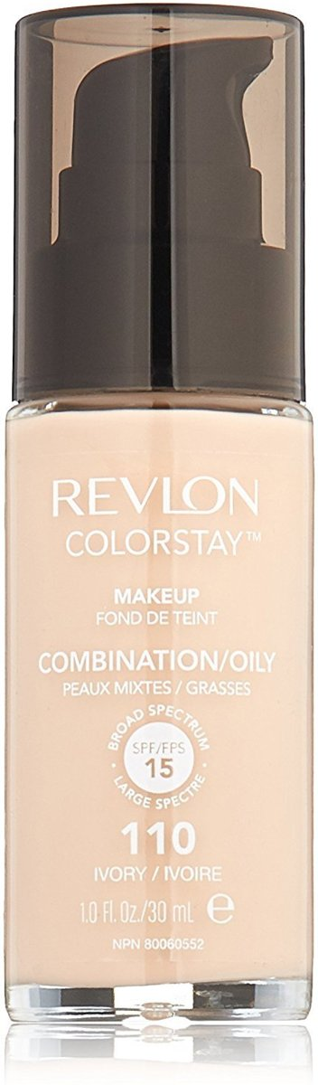 Revlon Colorstay Foundation With Pump Oily Skin - 110 Ivory