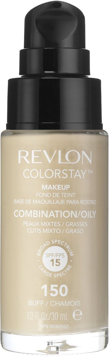 Revlon Colorstay Foundation With Pump Oily Skin - 150 Buff