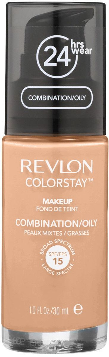 Revlon Colorstay Foundation with Pump Combination/Oily Skin - No. 240 Medium Beige