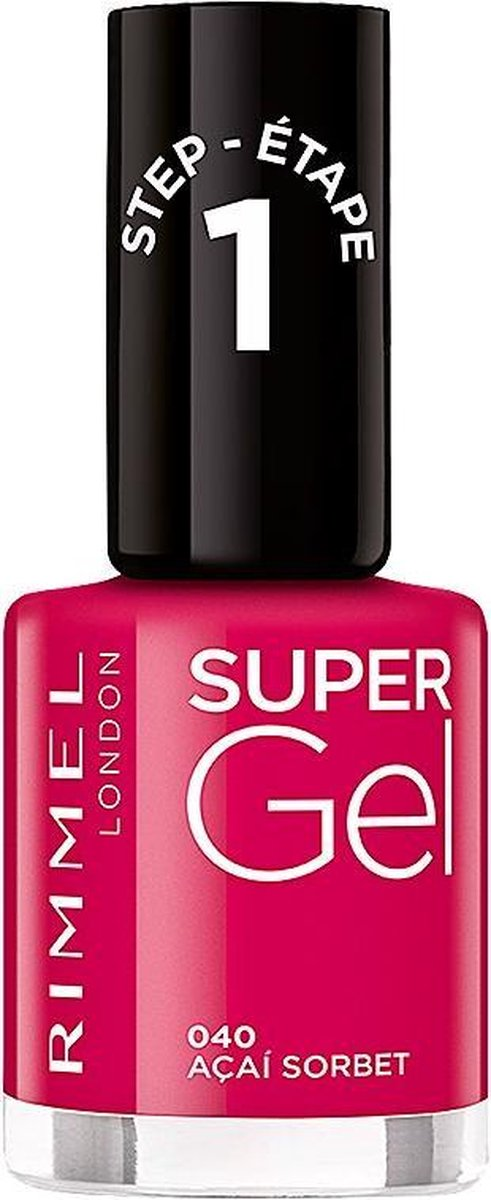 Matrix Rimmel London Supergel Kate Nail Lacquer 040 Acai Sorbet