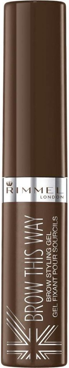 Rimmel Brow Gel - 002 Medium Brown - Wenkbrauwgel