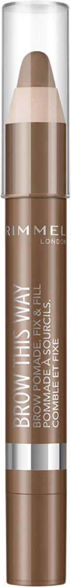 Rimmel Brow Pomade Dark Brown - Dark Brown