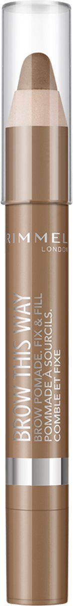 Rimmel Brow Pomade Medium brown - Medium brown