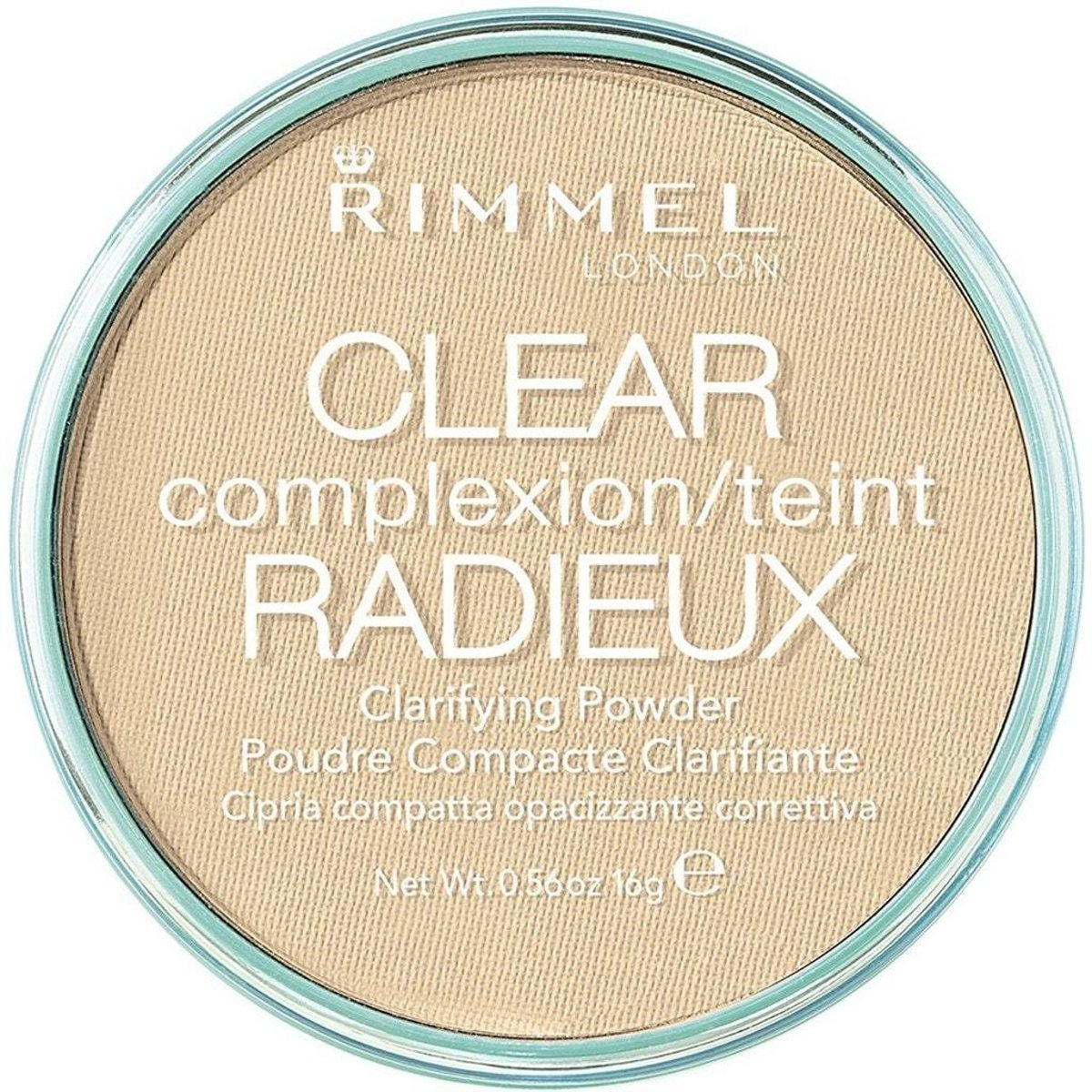 Rimmel Clear Complexion Clarifying Powder 021 Transparent