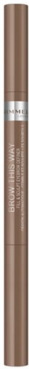 Rimmel London Brow This Way Fill And Sculp Eyebrow Definer 001 Blonde 0.25g