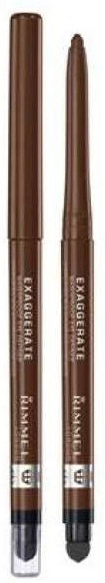 Rimmel London Exaggerate Full Colour Eyeliner - 212 Rich Brown