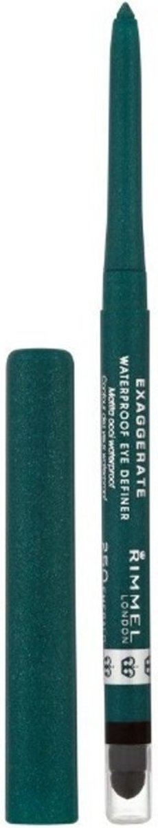 Rimmel London Exaggerate Full Colour Eyeliner- 250 Emerald Green