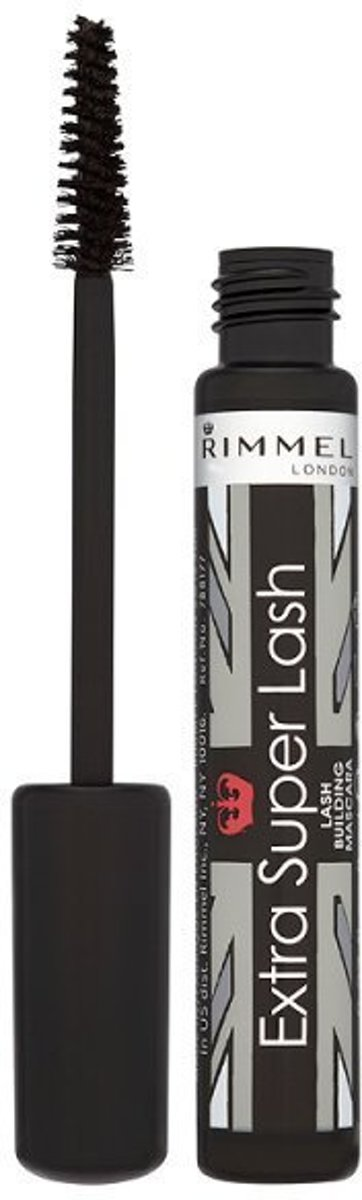 Rimmel London Extra Super Lash Mascara - 101 Black