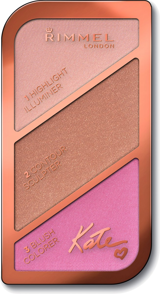 Rimmel London Kate Sculpting Kit - 001 Light - Bronzingpoeder en blush