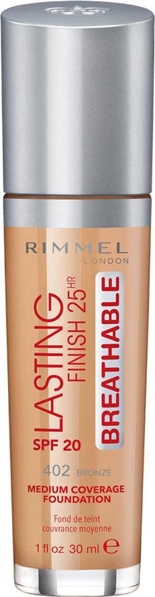 Rimmel London Lasting Finish Breathable - Bronze - Foundation